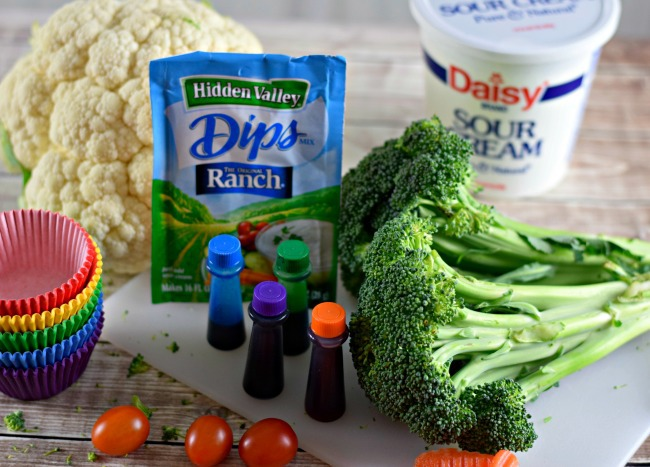 what you need to make broccoli cupcakes