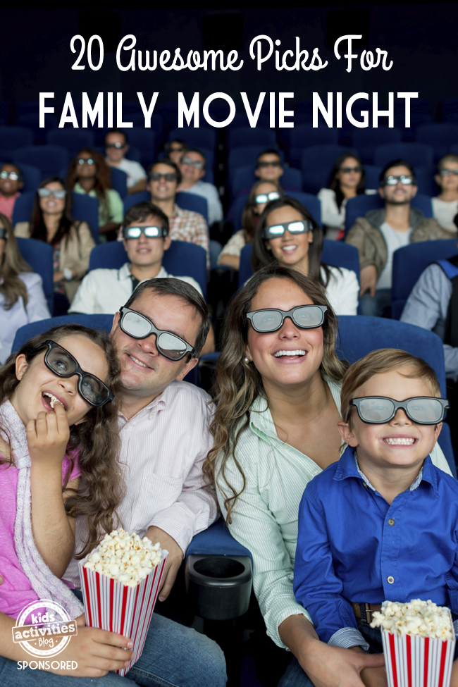 20 Awesome Picks for Family Movie Night