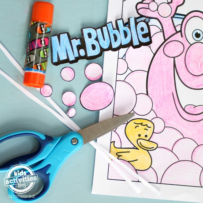 Make 3D Coloring Pages Supplies