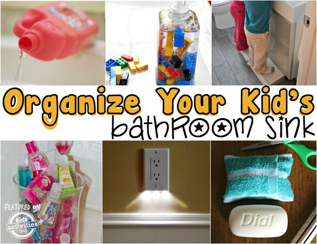 Mr Bubble Organize Your Kids Bathroom Sink