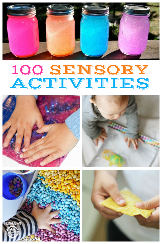 100 Sensory Activities