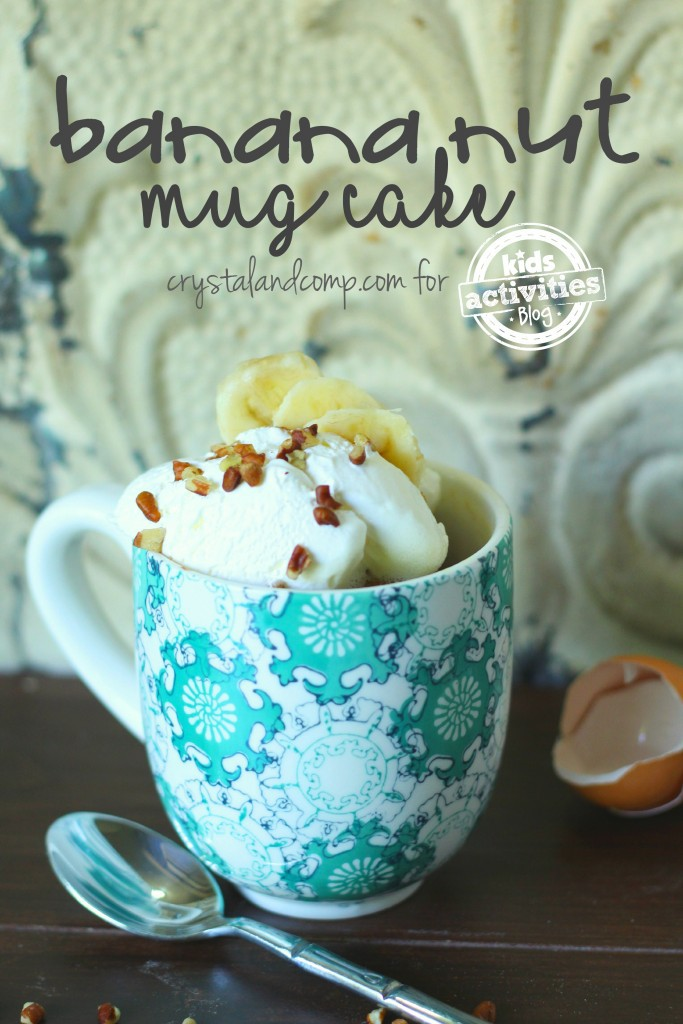 banana nut mug kids activities blog