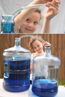 how to make a water Siphon
