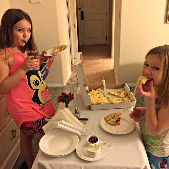 loews portofino bay room service