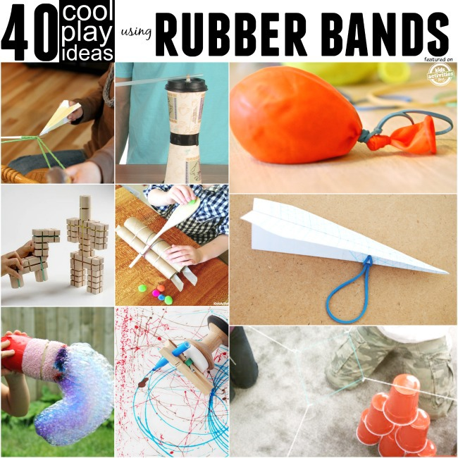 play ideas with rubber bands