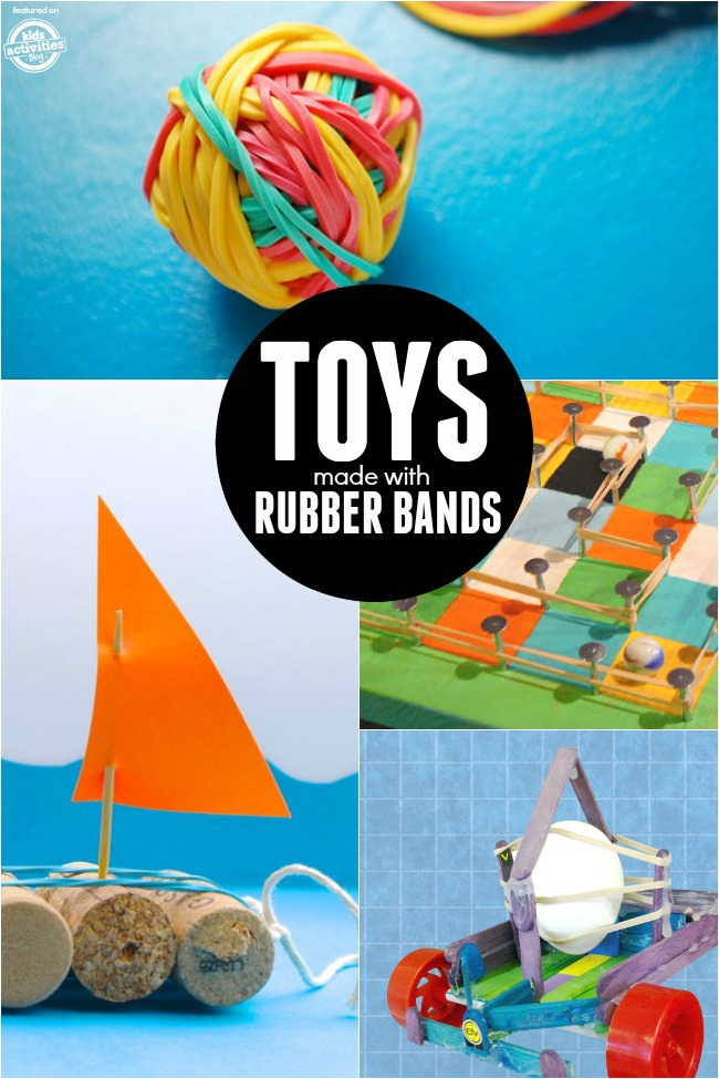 rubber band toys