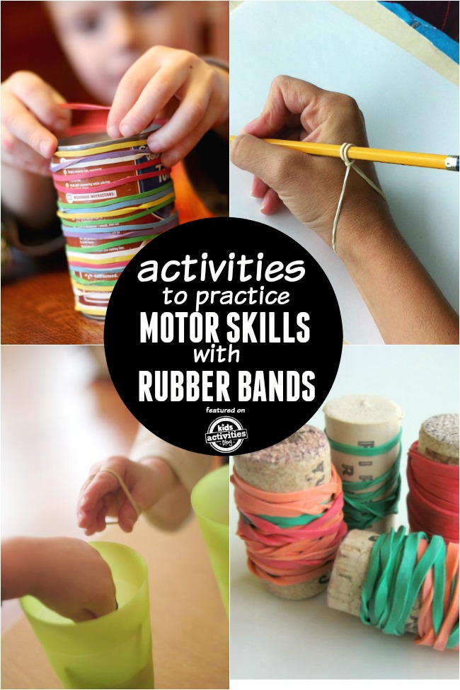 rubber bands motor