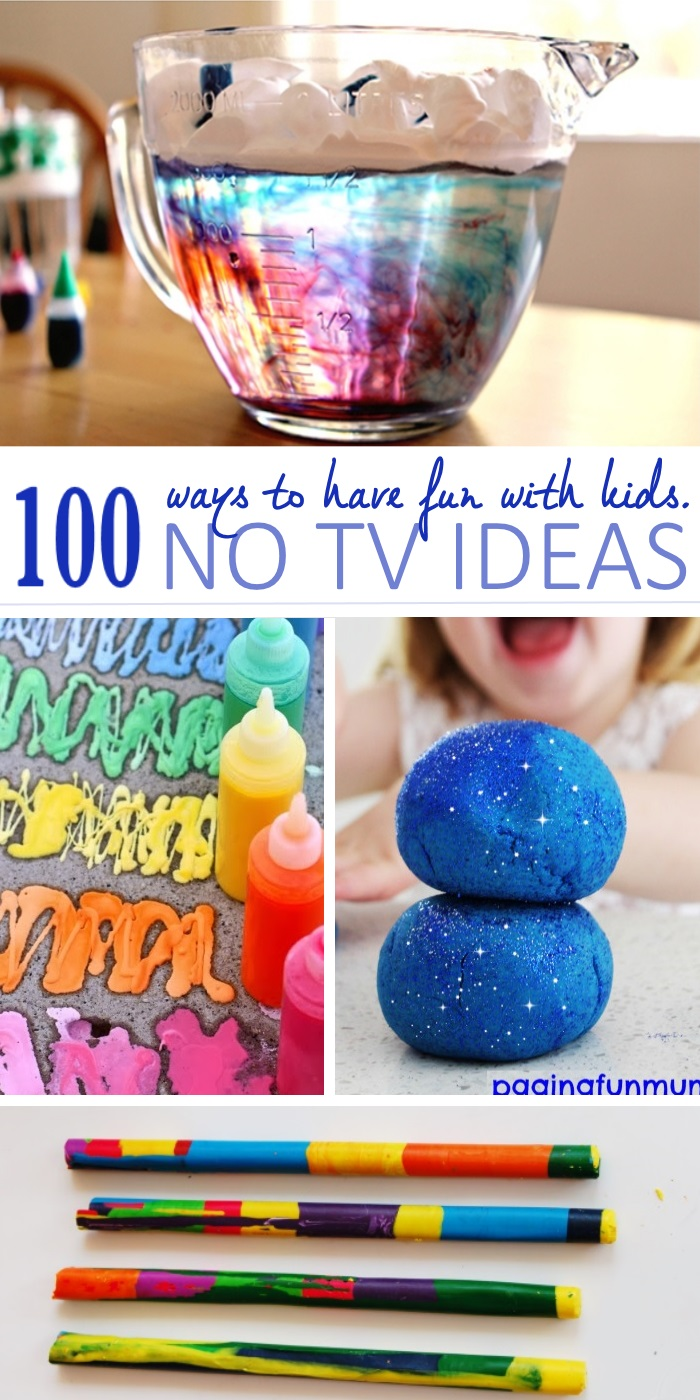 Activity TV free like playdough and making crayons