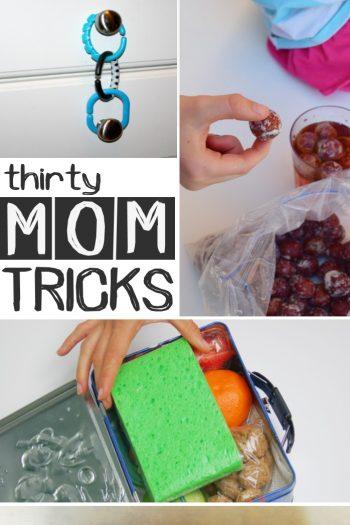 30 genius mom tricks feature