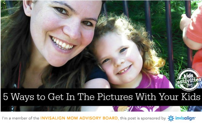 5 ways to get in the pictures with your kids - Kids Activities Blog - Invisalign
