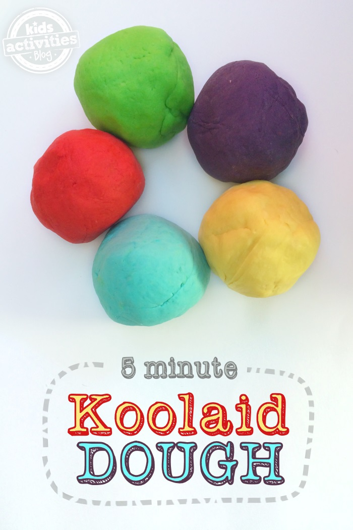 Koolaide playdough