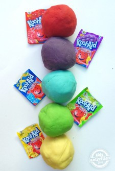 Funky Flavors of Playdough