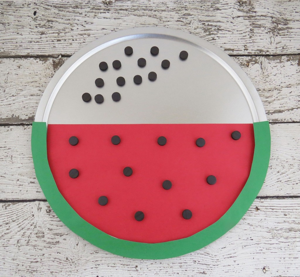 Magnetic Watermelon Seed Counting#1