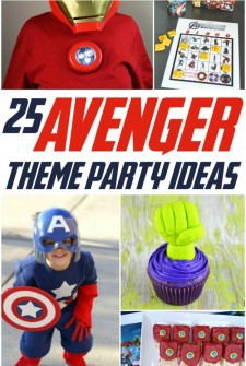 25 Avengers Party Theme Ideas