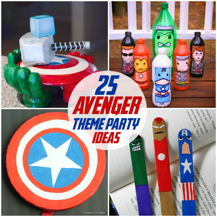 ToddlerActivities 25 Avengers Party Theme Ideas