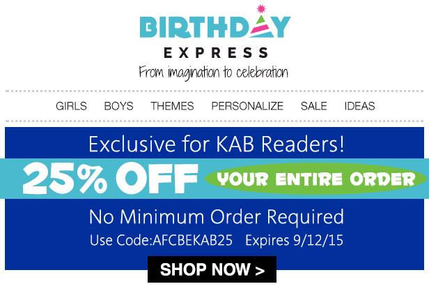 Save on Birthday Supplies for Boys