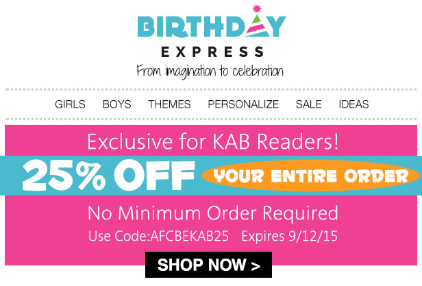 Birthday Supplies for girls