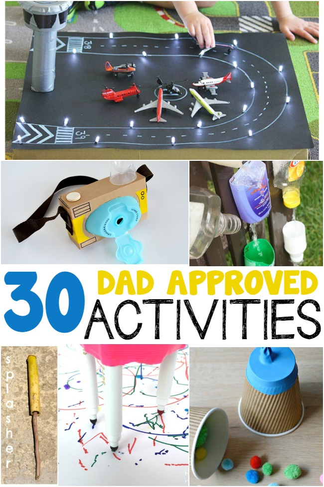 dad approved activities