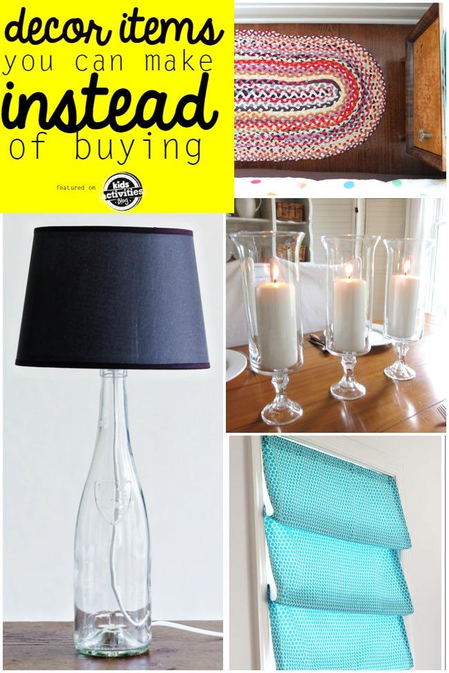 diy decor items