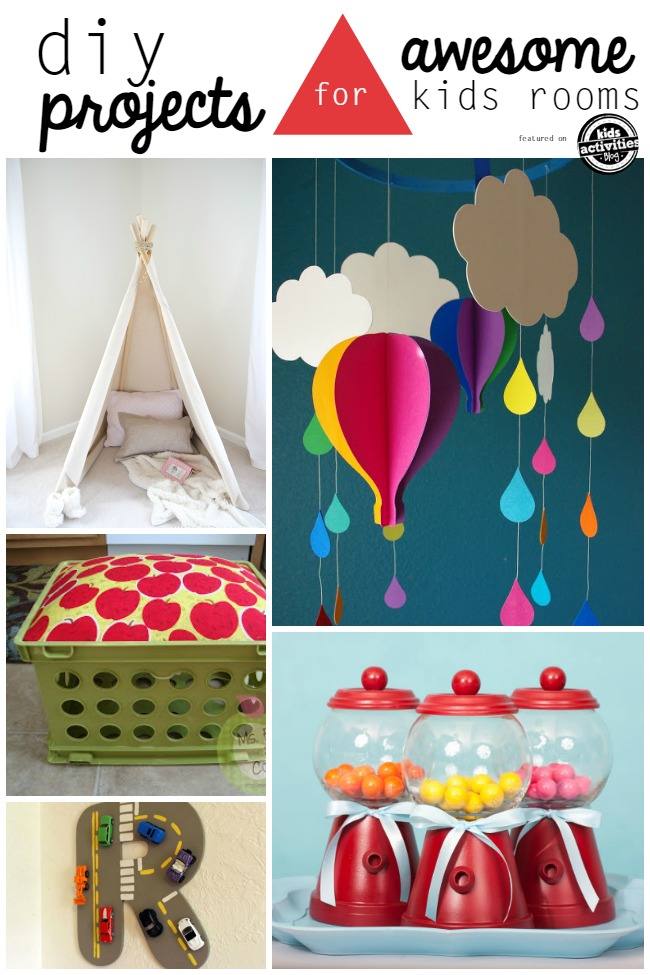 diy kid room projects
