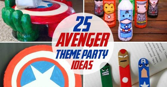 25 Avenger Party Ideas