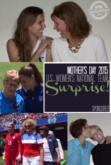 Mothers Day 2015 for US Womens National Team