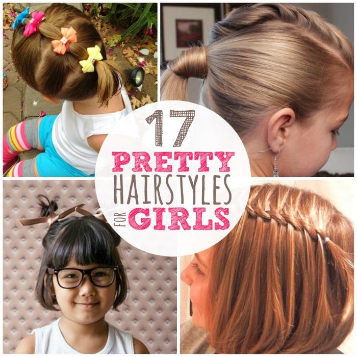 Wondrous 17 Lazy Hair Ideas For Girls Hairstyles For Women Draintrainus