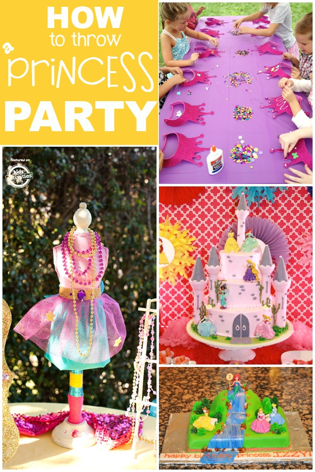 how to throw a princess party