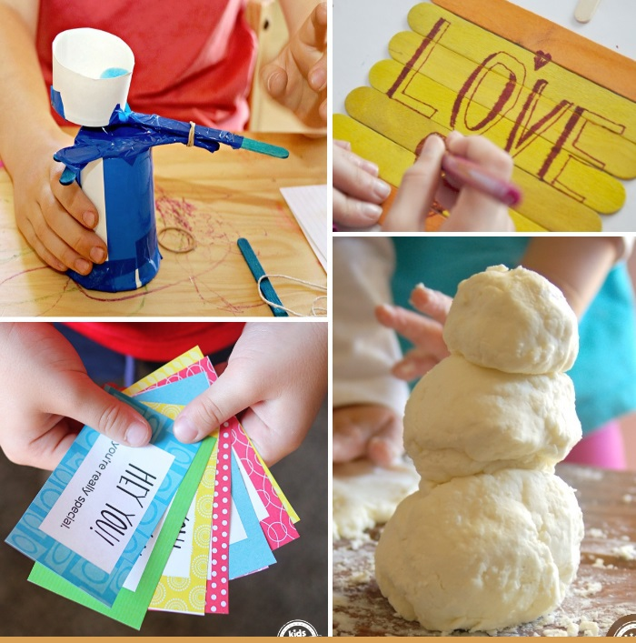 Things to do besides watch TV like crafts and activities