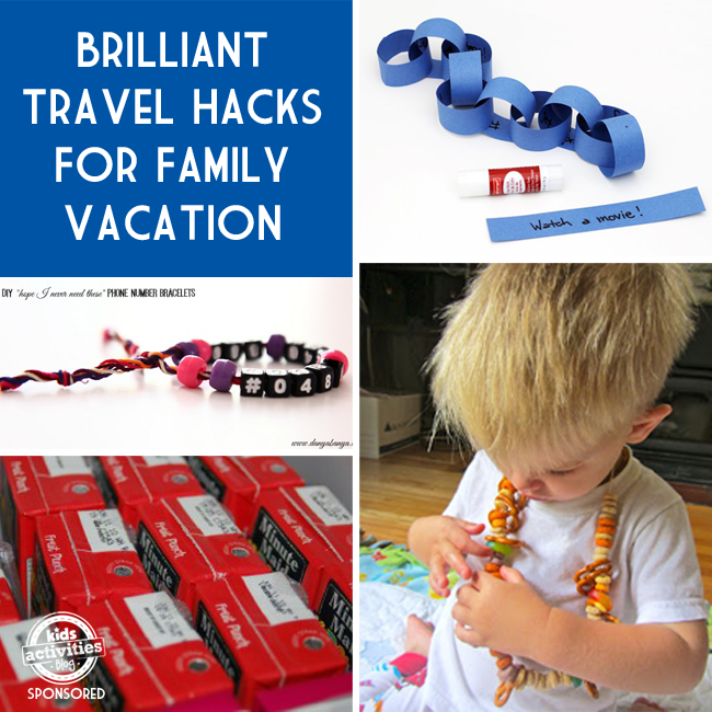 travel hacks for families