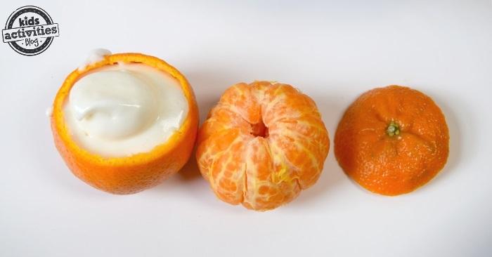 use an orange as a cupcake liner kab