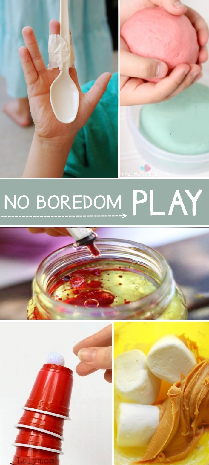 Fun Kids TV free crafts and activities like peanut butter playdough and stacking cups and science experiments