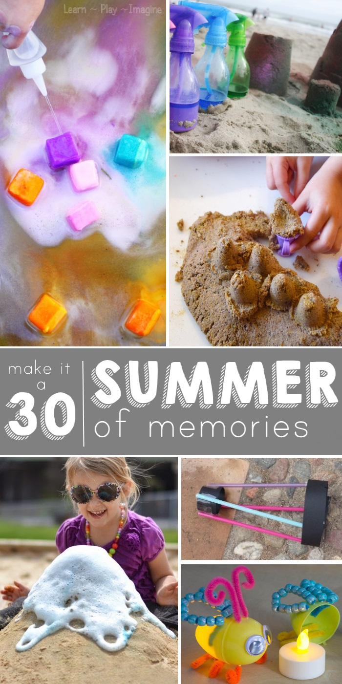 30 ways to play in summer
