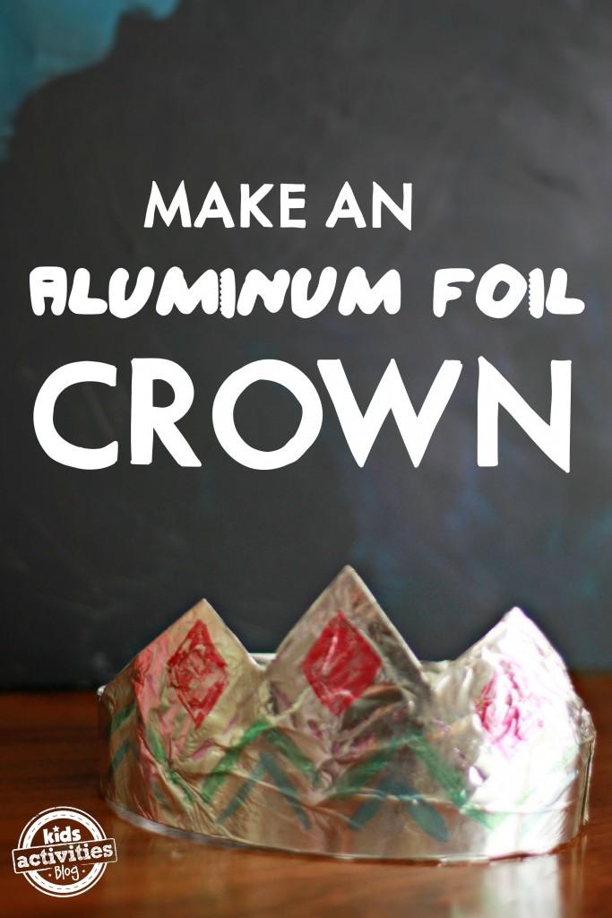 """"""" \"""" \\""""Aluminum Foil Crown\\""""\"""""""""""