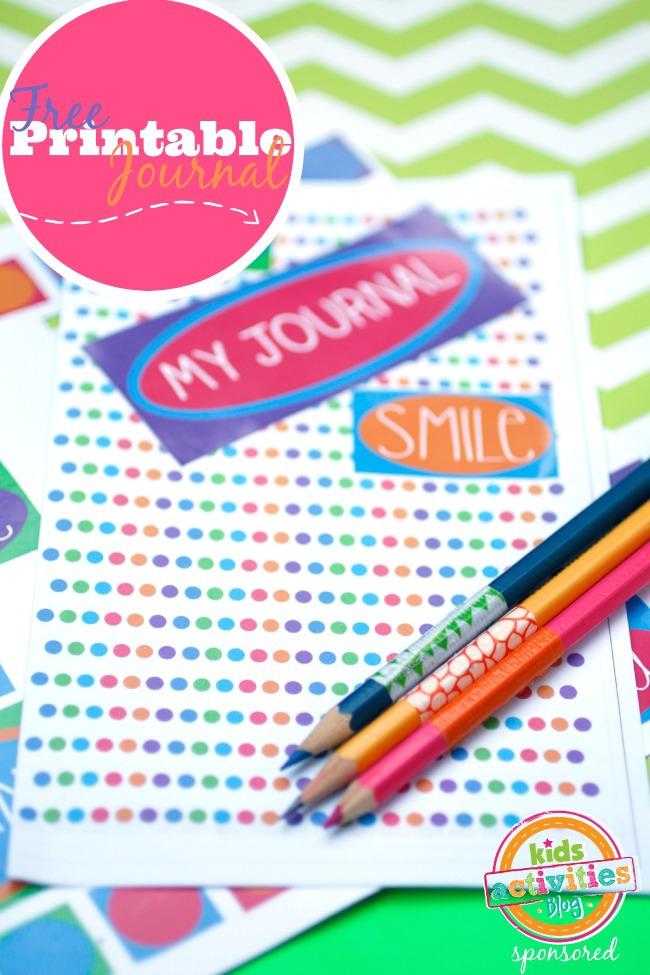Free Printable Journal - Kids Activities Blog