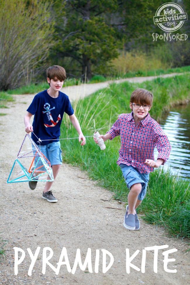 How to Make a Pyramid Kite - Kids Activities Blog