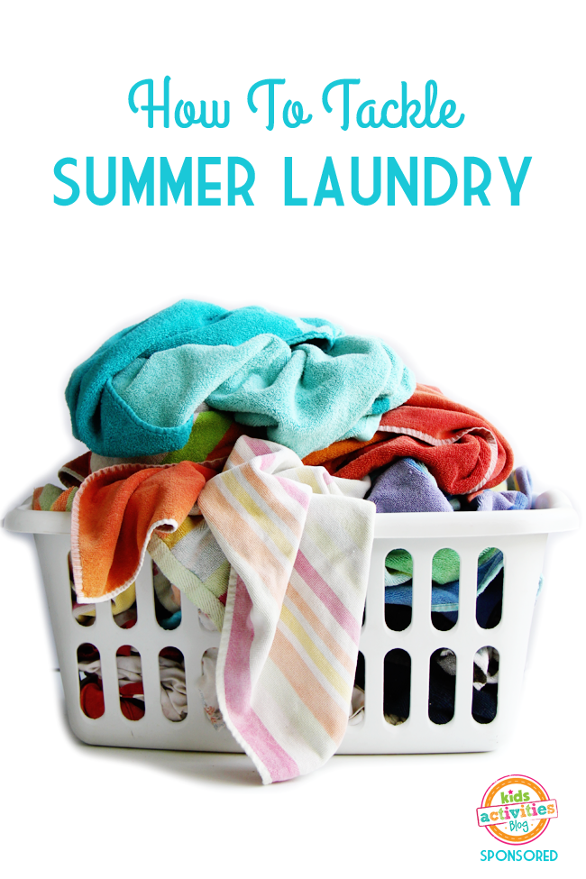 10 Tips To Tackle Summer Laundry