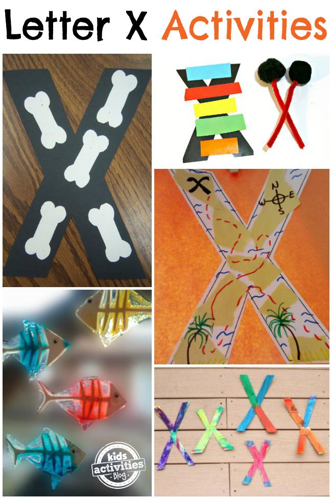 12 Letter X Activities