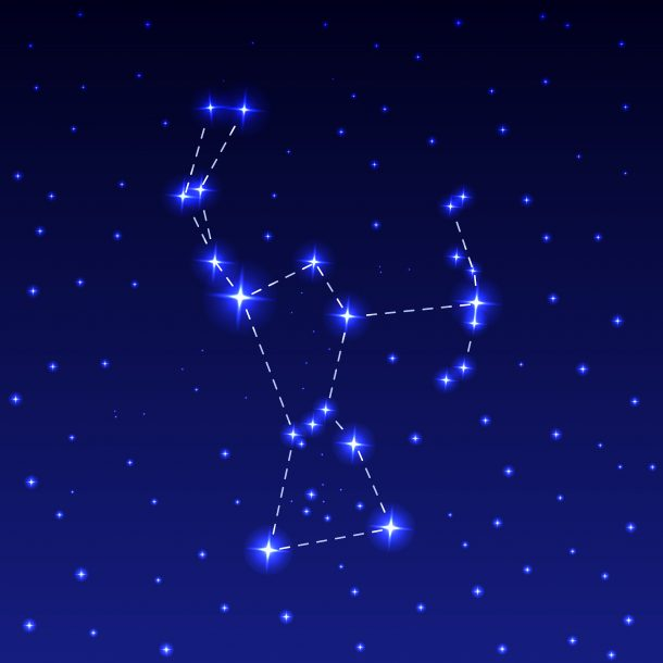 Stargazing With Kids Free Fun Constellation Sewing Cards