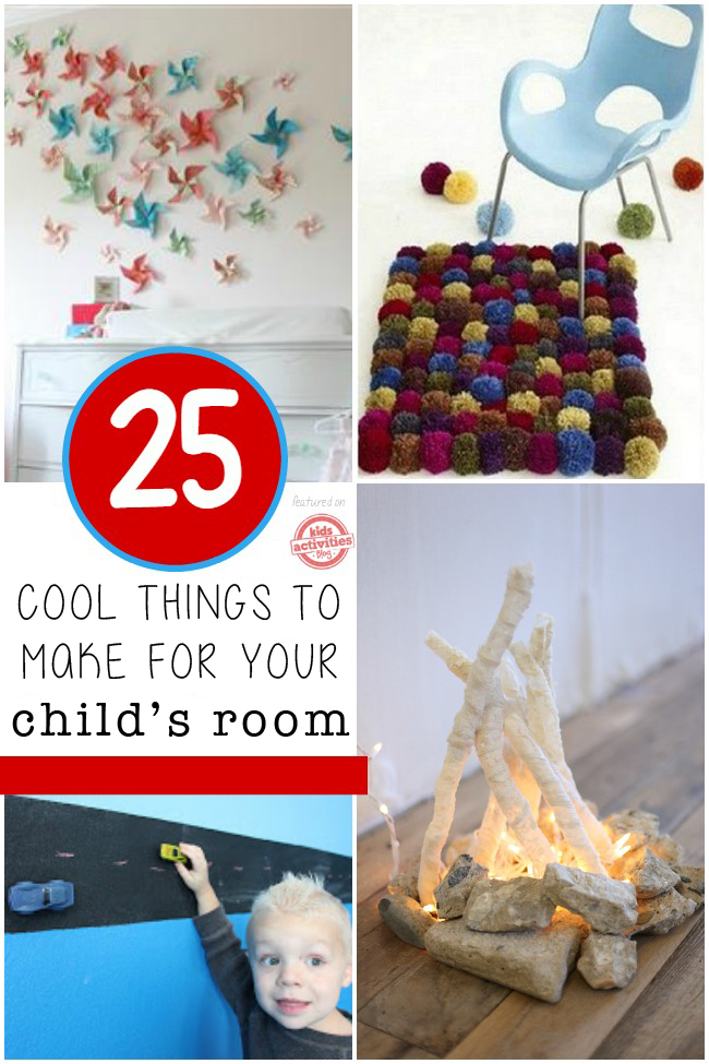 25 Creative Diy Projects For Kids Rooms Kids