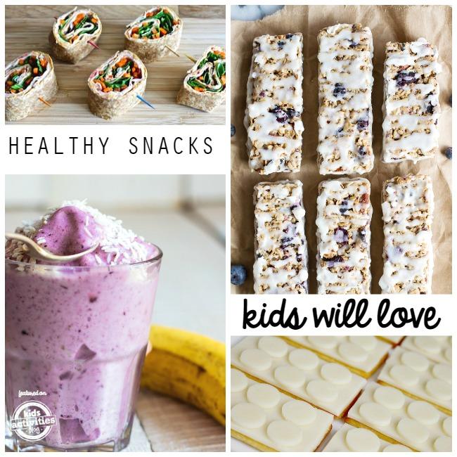 healthy snacks kids will love
