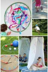 15 Ways You can have Fun with a Hula Hoop