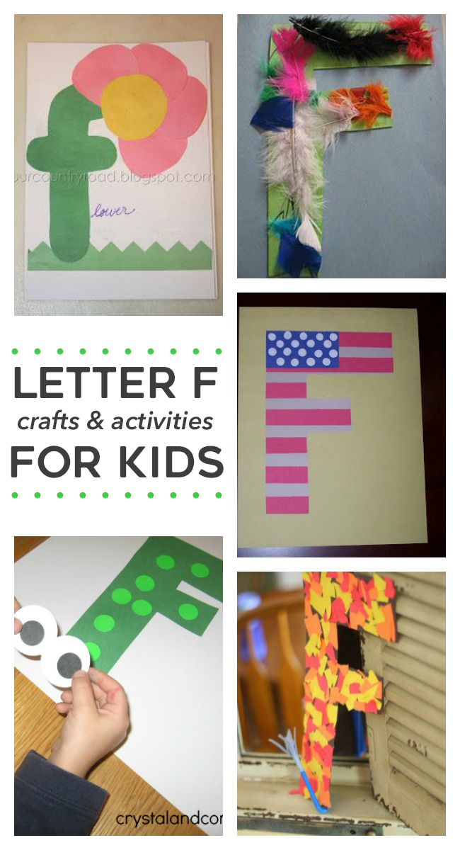 12 Letter F Activities