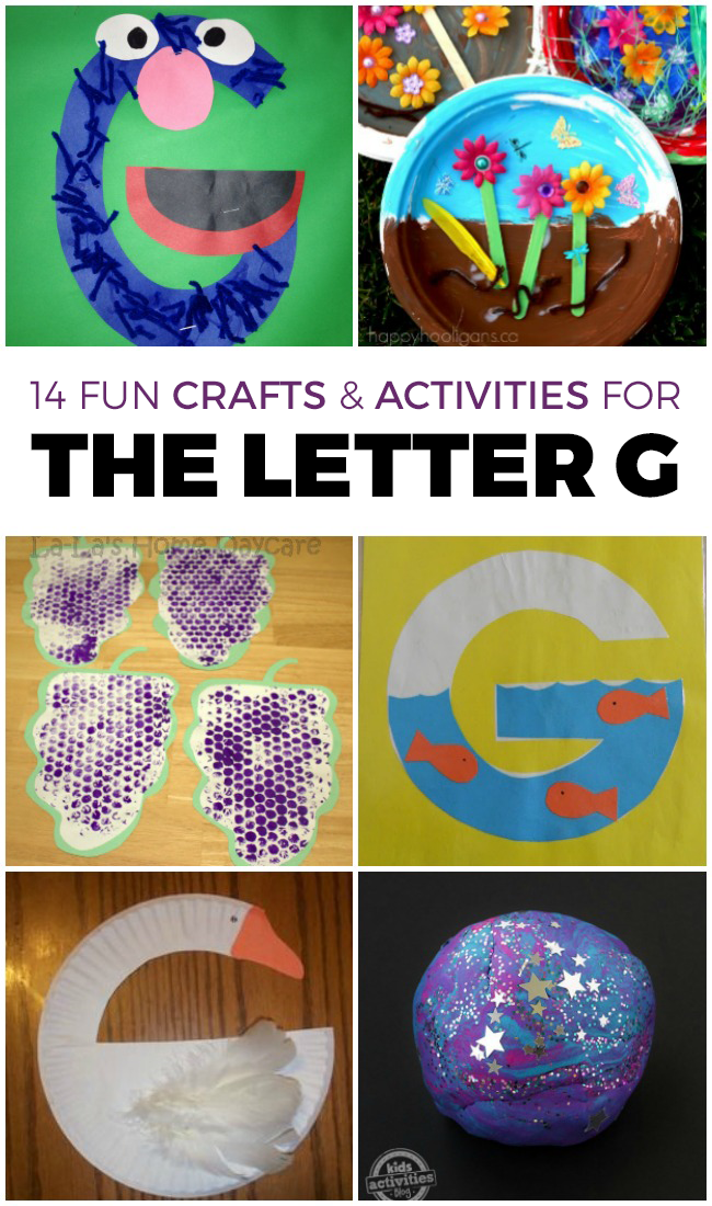 14 Letter G Activities