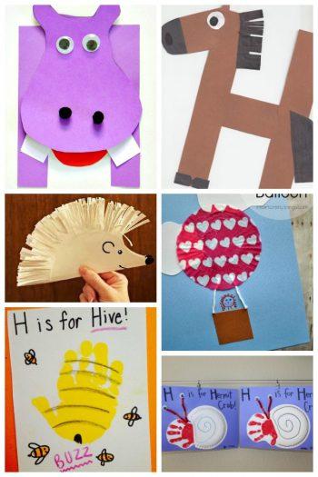 12 Letter H Activities