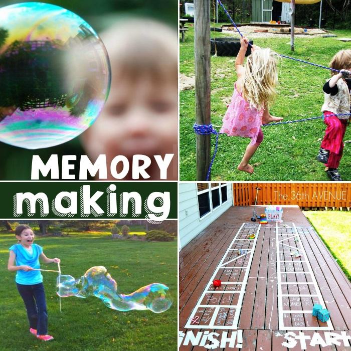 memory making ideas