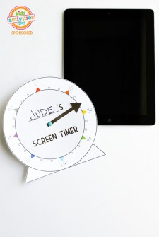 Free Printable Screen Time Tracker