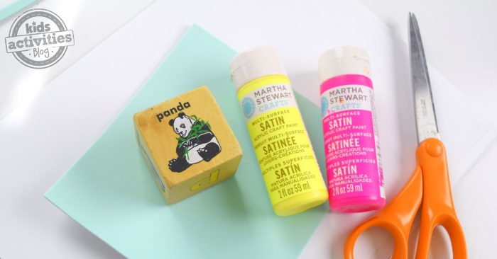How to make a stamp for kids