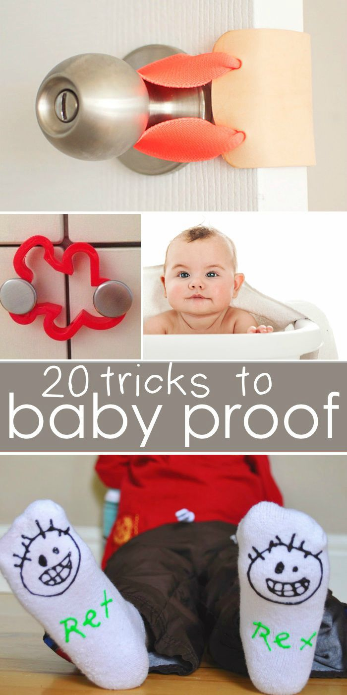 20 Tricks to Baby Proof