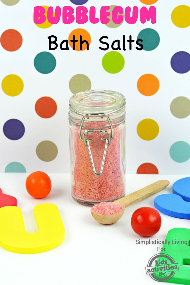 Bubblegum Bath Salts